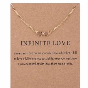 Jewelry - 4 for $25⚡️Dainty infinity necklace